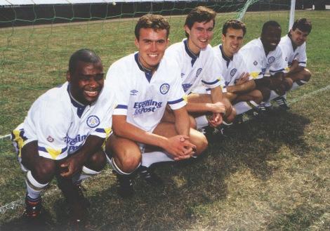 New season, new recruits (L to R): Ray Wallace, Jon Newsome, David Wetherall, Tonry Dorigo, Rod Wallace and Steve Hodge